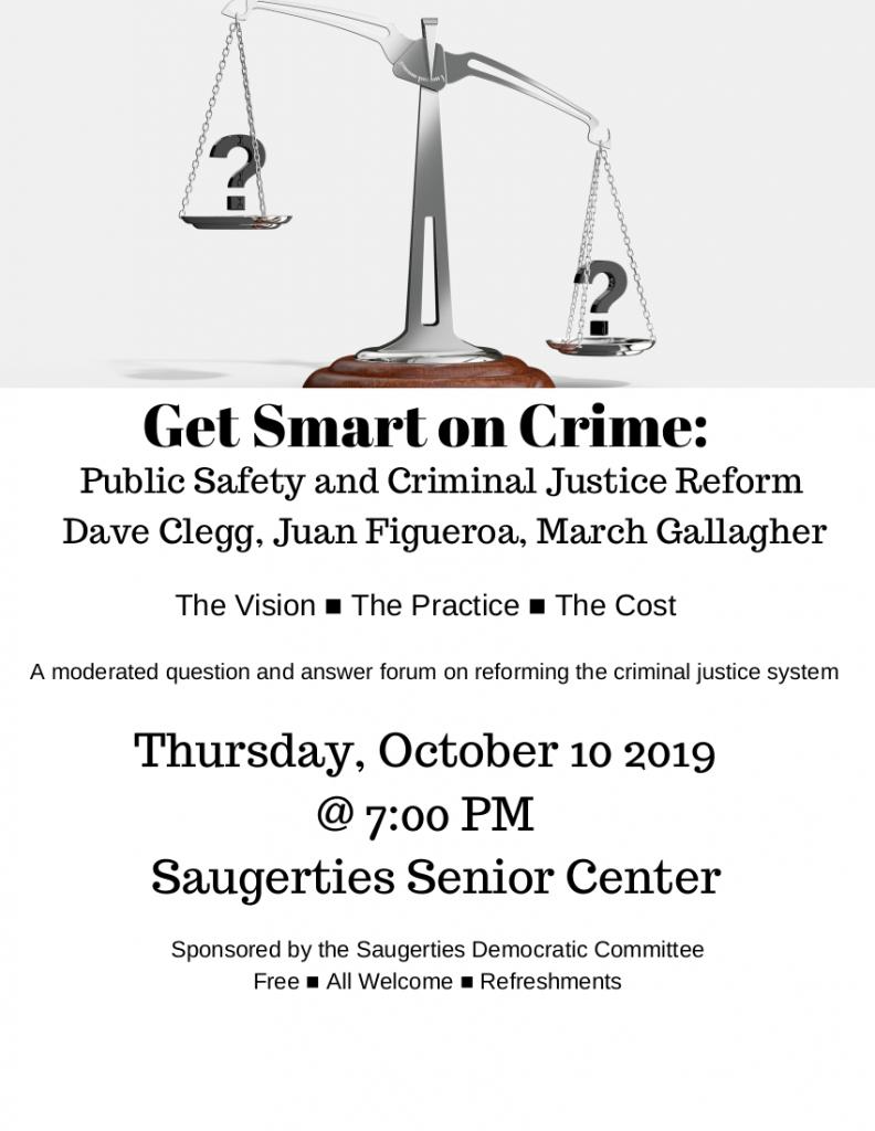 Criminal Justice Forum October 10, 2019